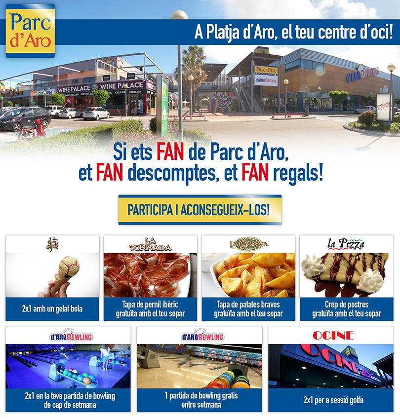Promoció Parc d'Aro